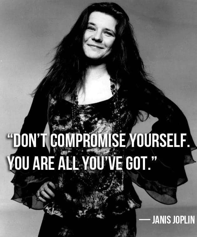 Don't Compromise Yourself - Sassy sayings - https://lindaursin.net