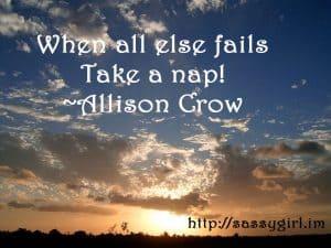 Sassy Sayings - When all else fails - https://lindaursin.net