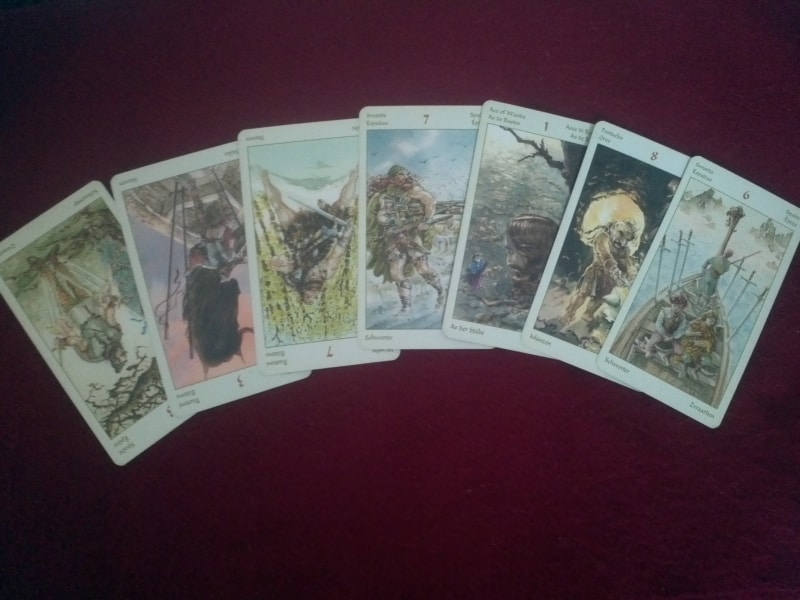 A Tarot reading about life