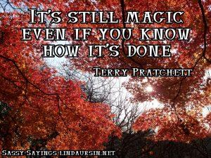 It's still magic... Sassy Sayings https://lindaursin.net #quotes #sassysayings