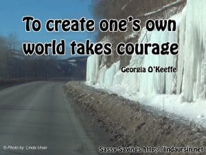 To create ones own world... - Sassy Sayings #quotes #sassysayings