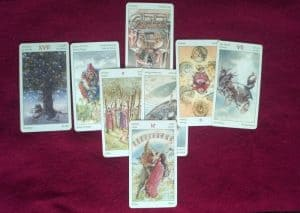 Tarot reading about thriving in business