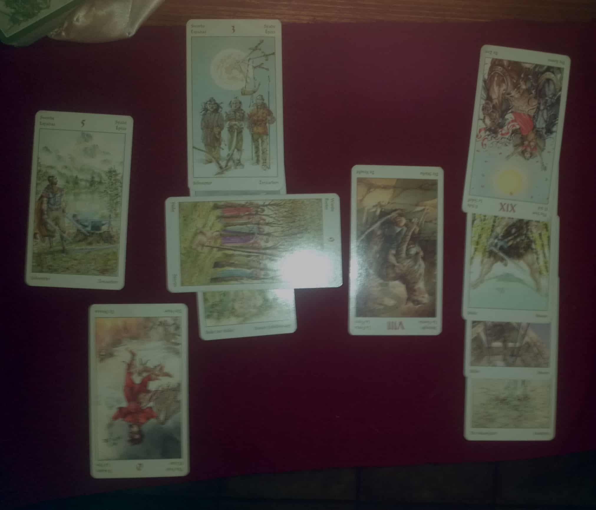A business success Tarot reading
