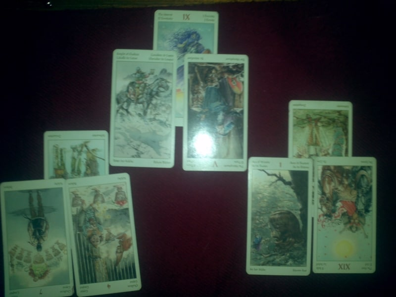 A Tarot reading about spiritual progress
