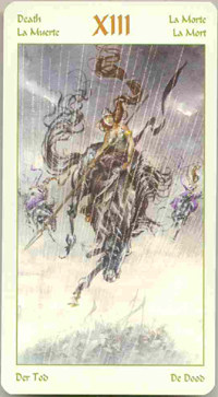 Daily business Tarot card on Facebook and Google+