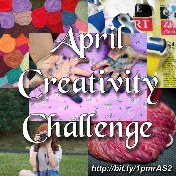 How you can get creative (in April)