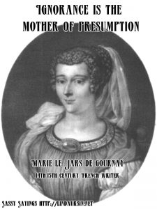 Sassy Sayings with early feminists