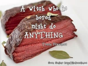 A witch who is bored... Sassy Sayings lindaursin.net