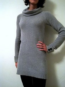 Sweater Dress from Men's Sweater