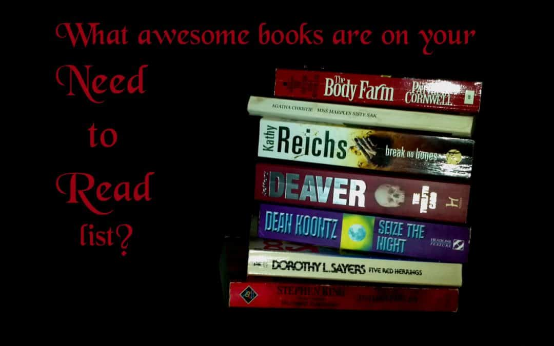 What awesome books do you need to read?