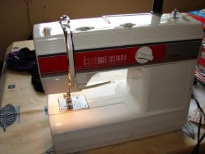 A picture of my sewing machine