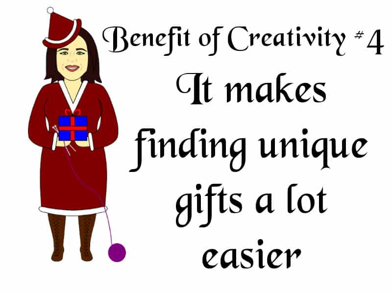 Creativity makes unique gifts easier to find