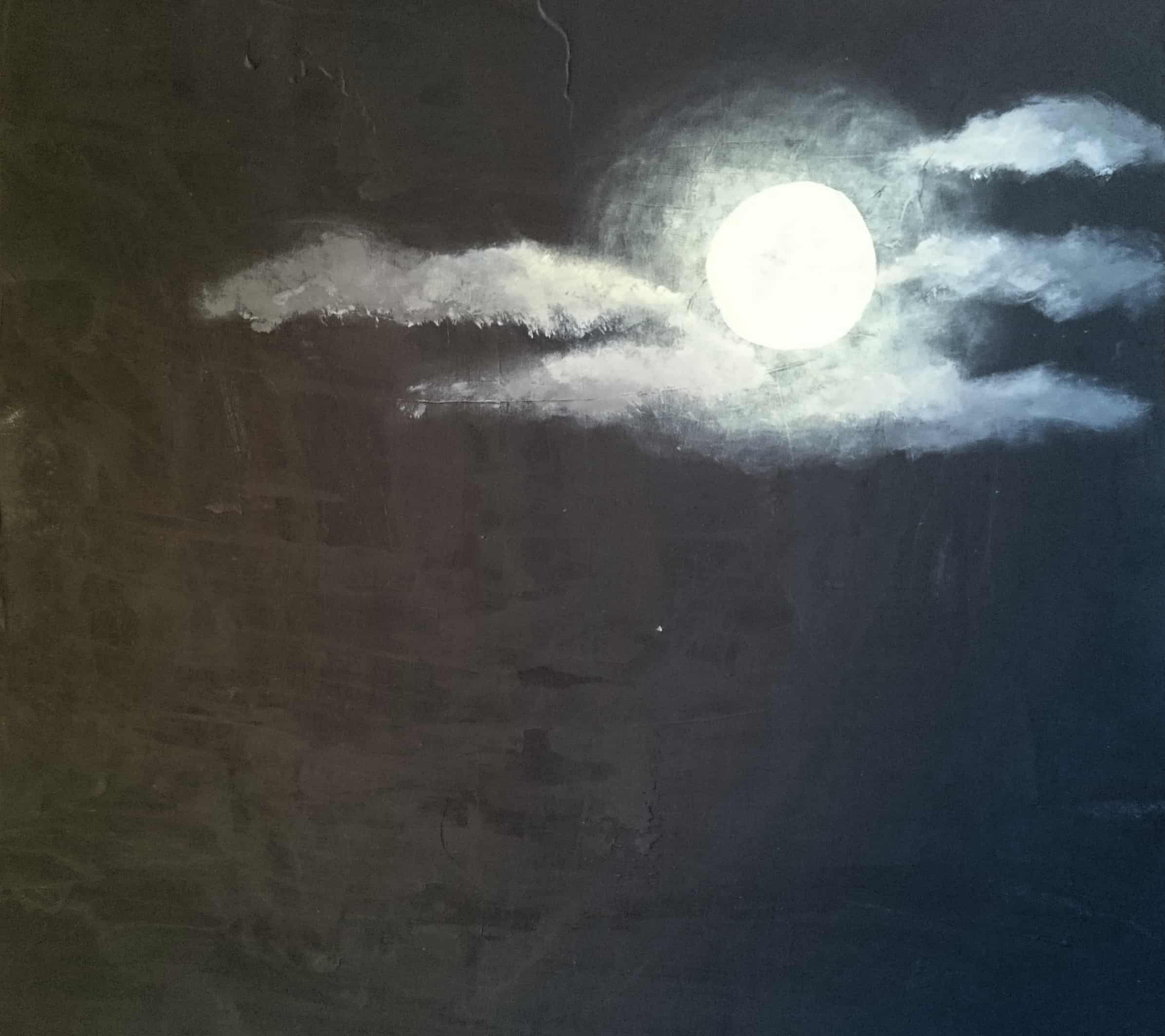 Clouded Moon