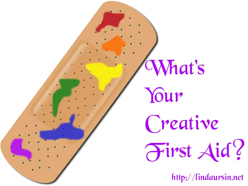 How to find your creative first aid