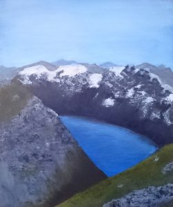 Mountain Trolls by Linda Ursin - Paintings and drawings inspired by mythology and folklore