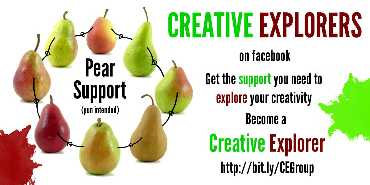 "You need creative ""pear"" support"