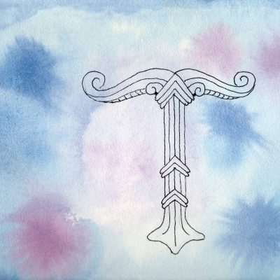 Irminsul - 100 Sacred Symbols in Watercolour by Linda Ursin