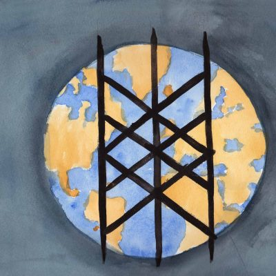Web of Wyrd - 100 Sacred Symbols in Watercolour by Linda Ursin
