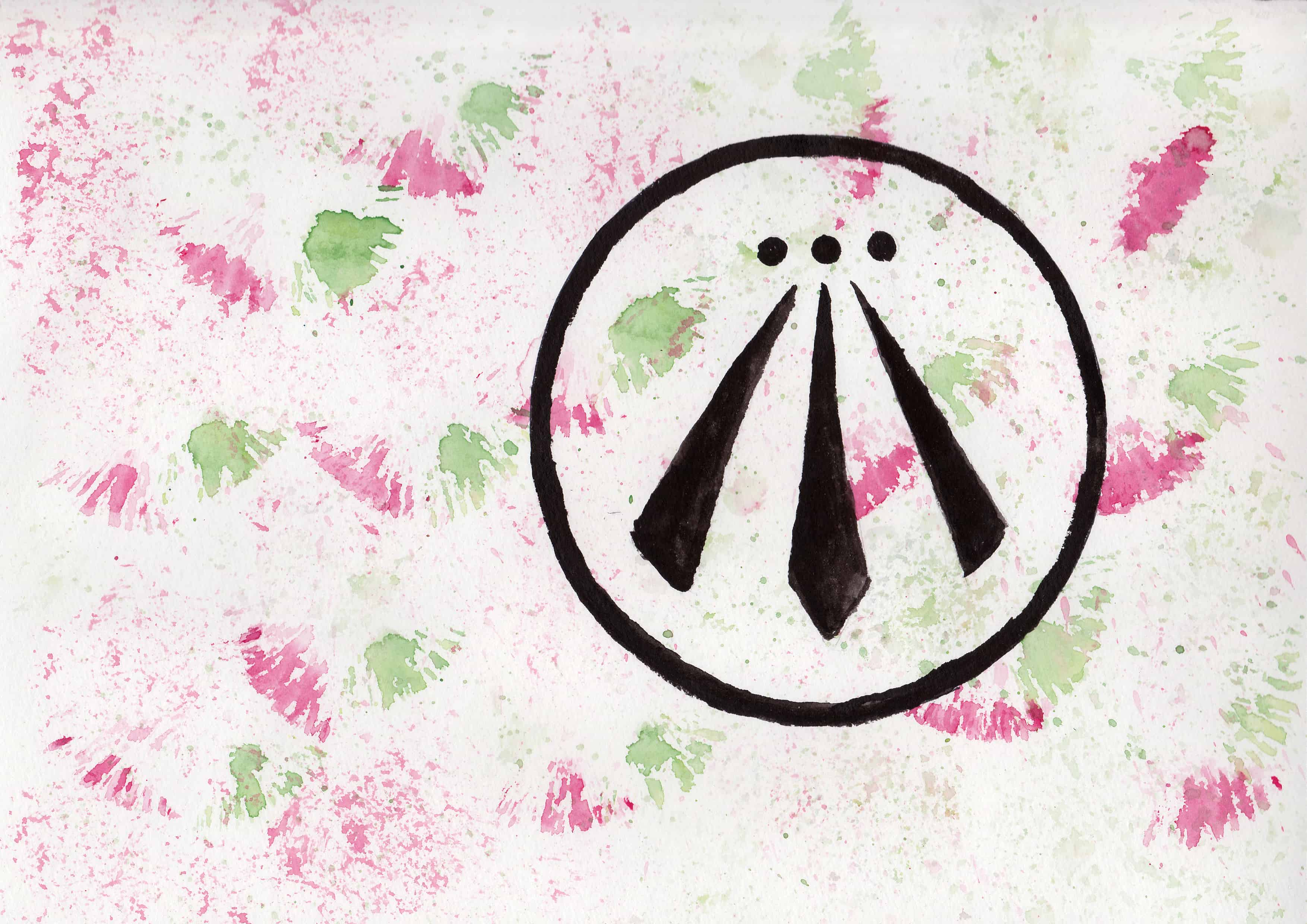 Awen - 100 Sacred Symbols in Watercolour by Linda Ursin