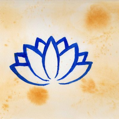 Lotus - 100 Sacred Symbols in Watercolour by Linda Ursin