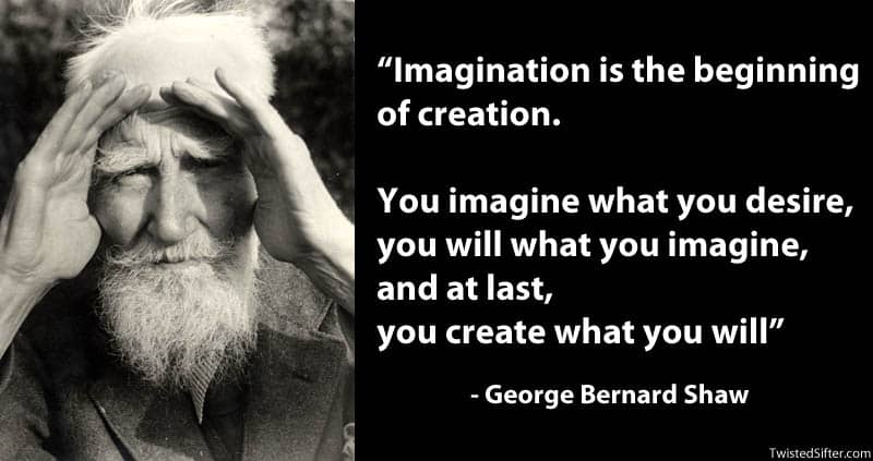 Imagination is the beginning of creation... George Bernard Shaw
