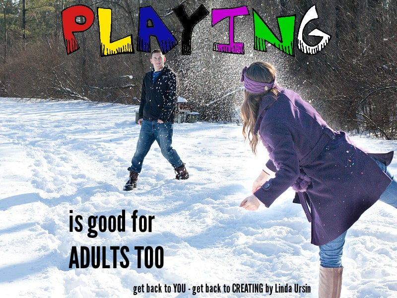 Playing is good for adults too