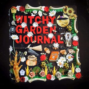 witchy garden journal by lisa davis-woolwine