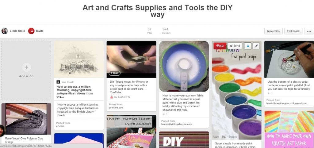 Make your own art supplies