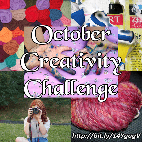 October Creativity Challenge