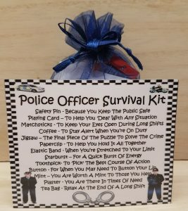 police officer survival kit