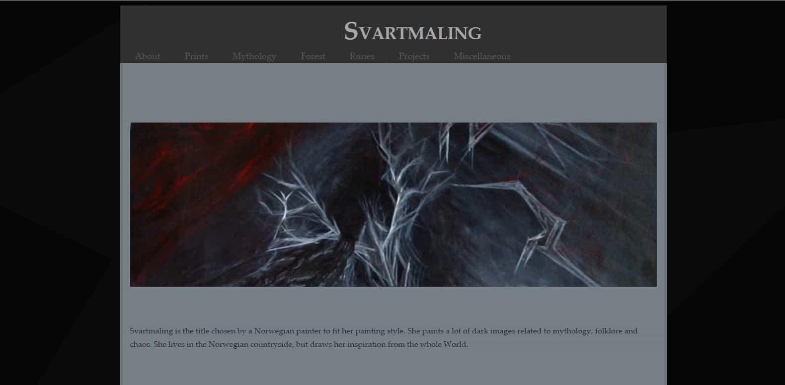 Svartmaling