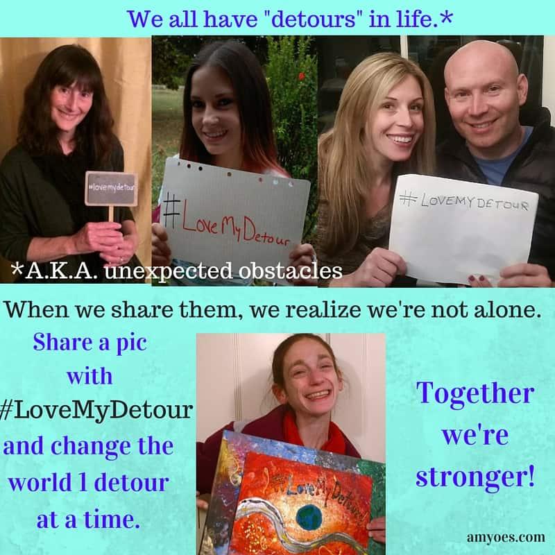 We all have detours