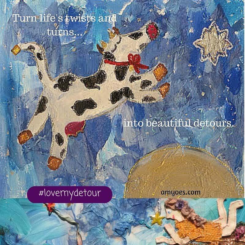 Love my detour by Amy Oestreicher