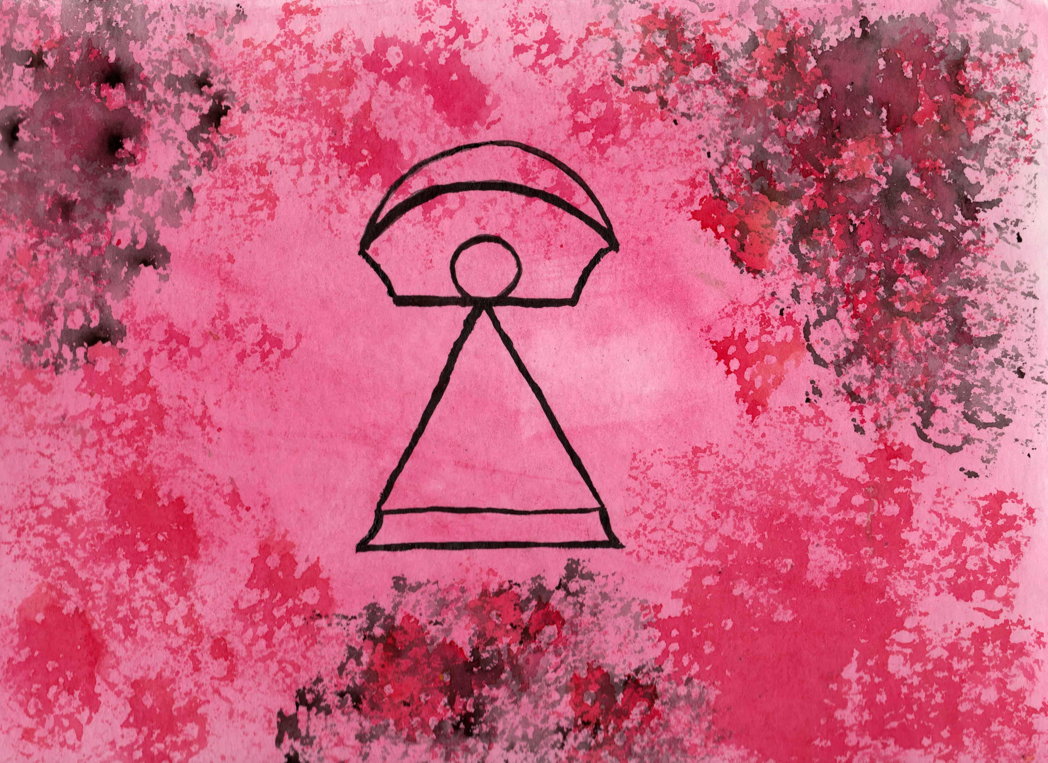 Tanit - 100 Sacred Symbols in Watercolour by Linda Ursin