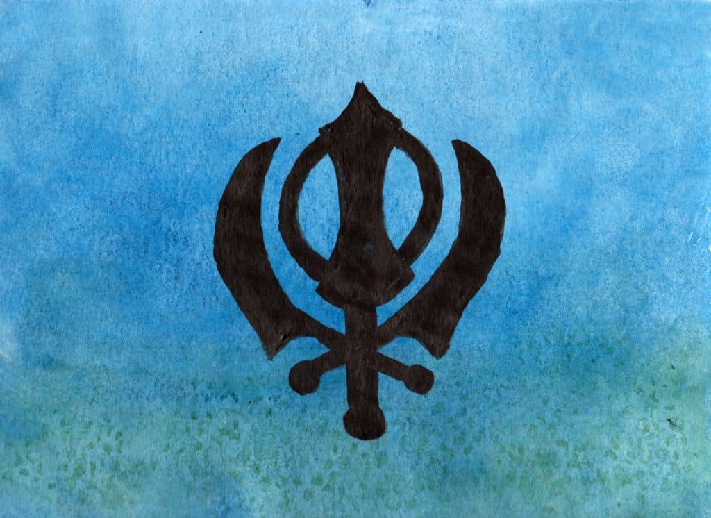 Khanda - 100 Sacred Symbols in Watercolour by Linda Ursin