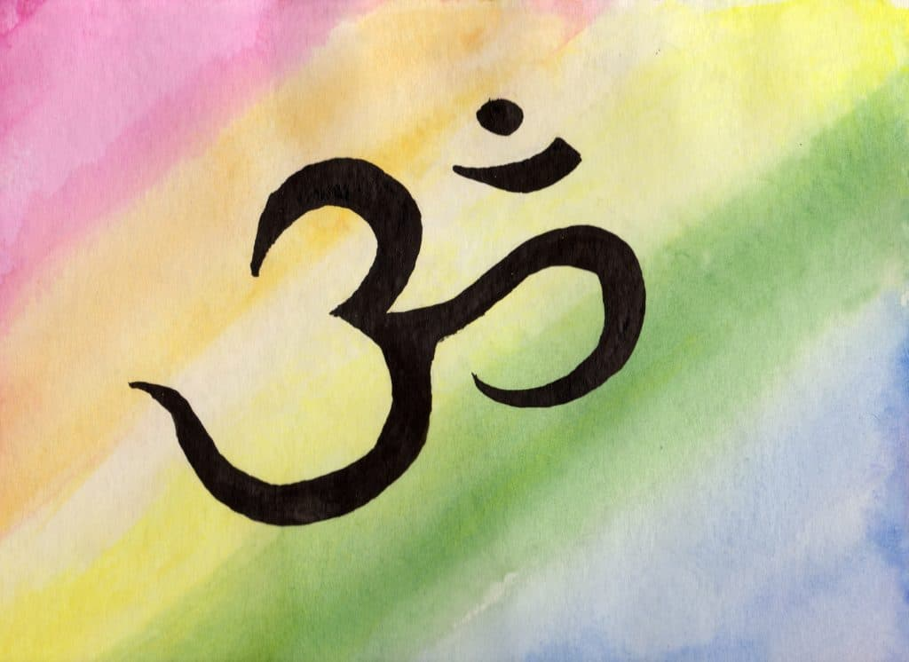 Aum - 100 Sacred Symbols in Watercolour by Linda Ursin