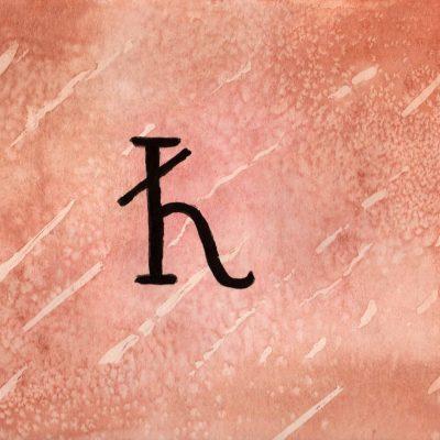 Kronos - 100 Sacred Symbols in Watercolour by Linda Ursin
