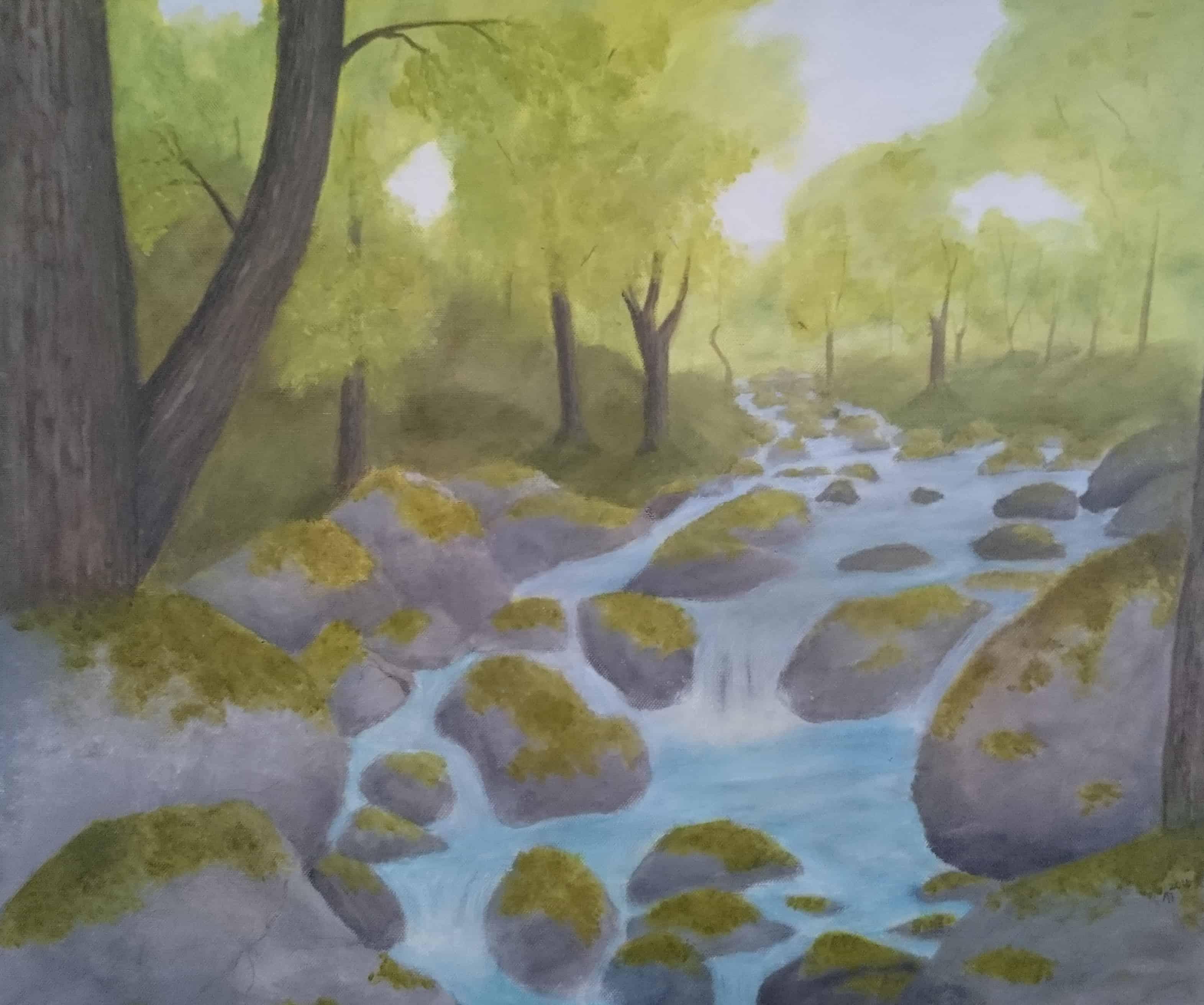 Presenting a mythological landscape that will change