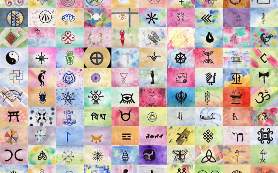 Im Creating 100 Pagan Symbols
