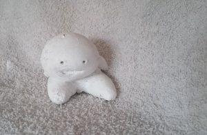 Strange Guy - Salt dough figure by Linda Ursin