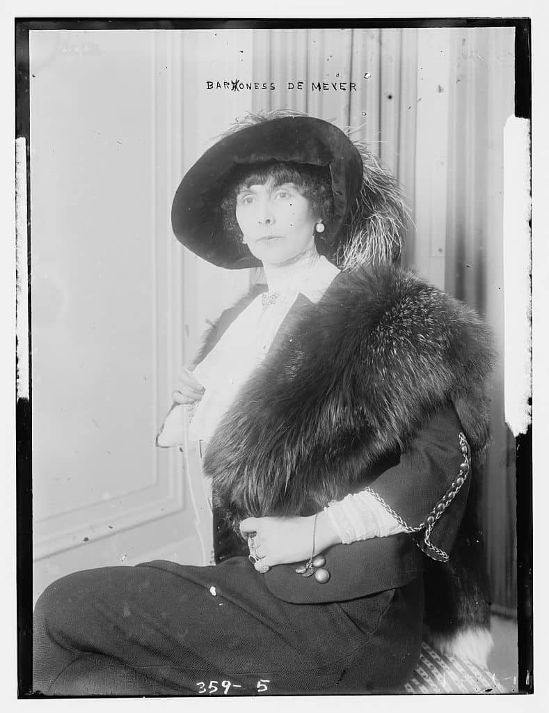 Baroness Olga de Meyer
