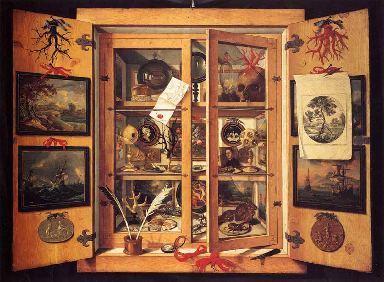Cabinets of curiosities – who, why, and what