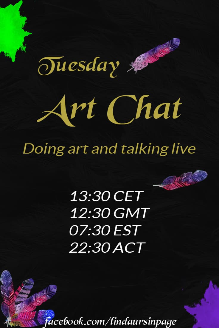 Tuesday Art Chat with Linda Ursin