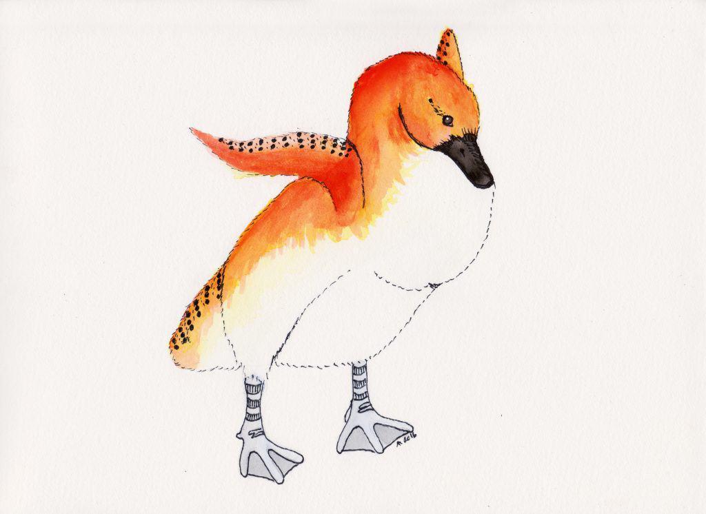 Strange Bird - 13 - Confident Carrot Top Cygnet