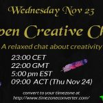 Inviting you to a chat about your creativity