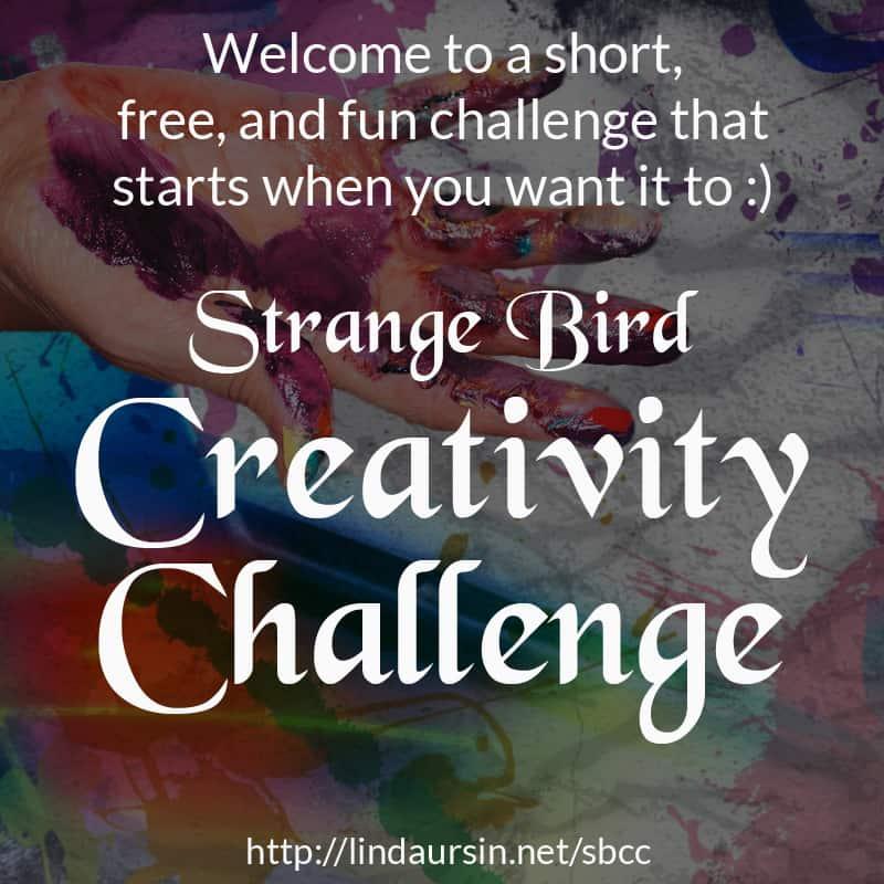 Strange Bird Creativity Challenge
