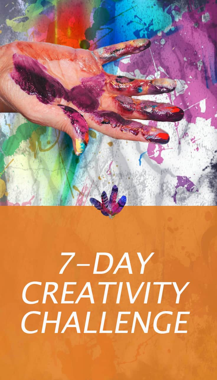 7-day creativity challenge
