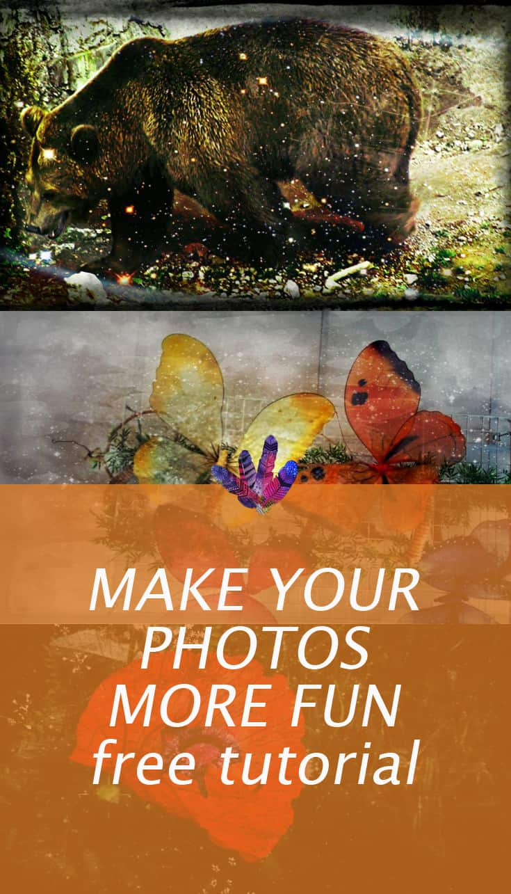Make your photos more fun - free tutorial