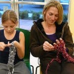 Sewing, more than a hobby for mother & daughter
