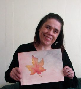 Linda Ursin Maple Leaf in Autumn
